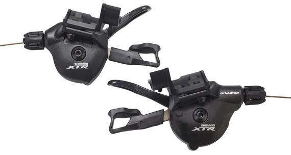 Shimano XTR SL-M9000-I shifter I-Spec 2/3 x 11-speed zwart
